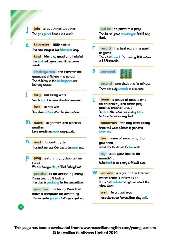 happy holiday key words reading scheme series a book 7